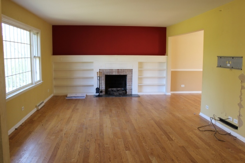 Living Room on Closing Day